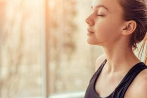 Focus on breath 460x307 - Mindfulness, Self Hypnosis and Meditation – Distant Cousins?