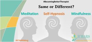 Self Hypnosis Meditation Mindfulness - Mindfulness, Self Hypnosis and Meditation – Distant Cousins?