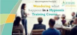 The experience of being a part of hypnosis training