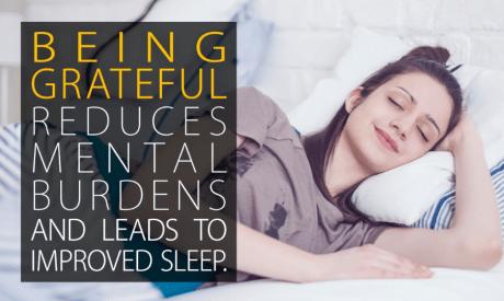 Sleep Deprivation might mean less gratitude