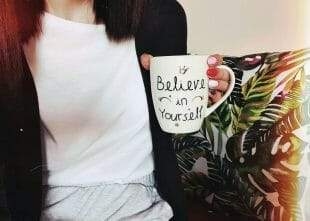 believe in yourself on cup 310x221 - 5 tips to Turn Weakness into Strength