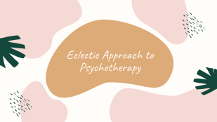 Online course in Eclectic Psychotherapy